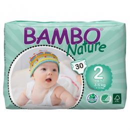 Bambo nature mini 3-6 kg 30 ks