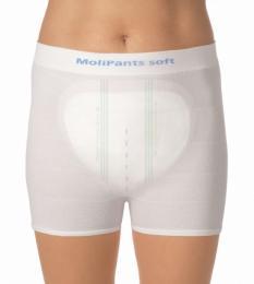 MoliPants Soft Extra Extra Large fixační kalhotky 5ks