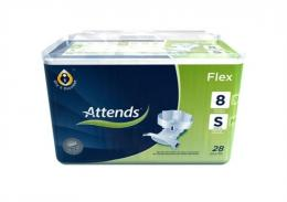 Attends Slips Flex Extra Small kalhotky zalepovací 28 ks