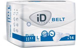 iD Belt Large Plus plenkové kalhotky s upínacím pásem 14 ks