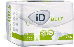 iD Belt Large Super plenkové kalhotky s upínacím pásem 14 ks