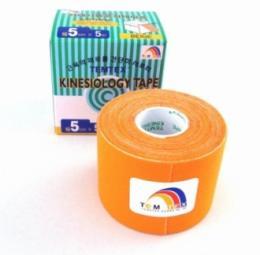Tejpovací páska TEMTEX Classic 5 cm x 5 m oranžová
