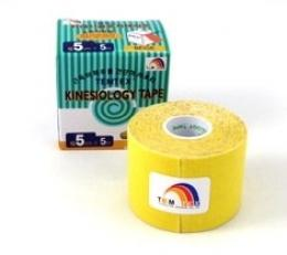 Tejpovací páska TEMTEX Classic 5 cm x 5 m žlutá