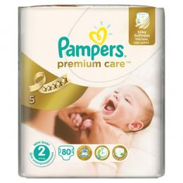 PAMPERS Premium Care Mini 3-6kg 80 ks