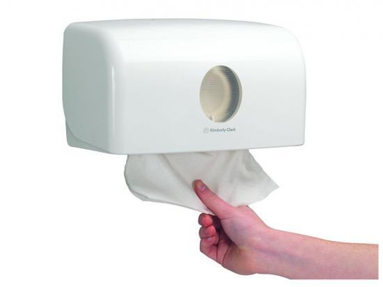 Aquarius zásobník na skládané papírové ručníky Bílý