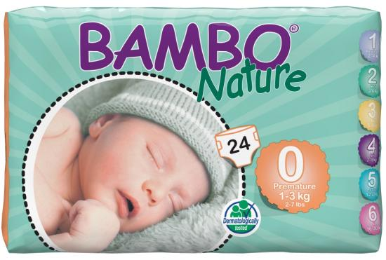 Bambo nature Premature 1-3 kg 24 ks