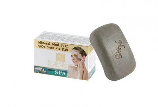 Bahenní mýdlo s minerály z Mrtvého moře 125 g