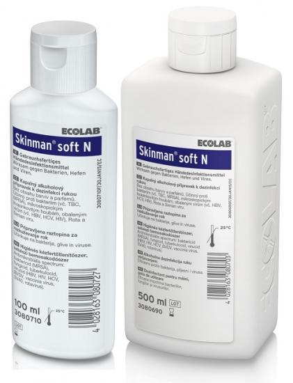Skinman Soft N dezinfekce na ruce 1 l