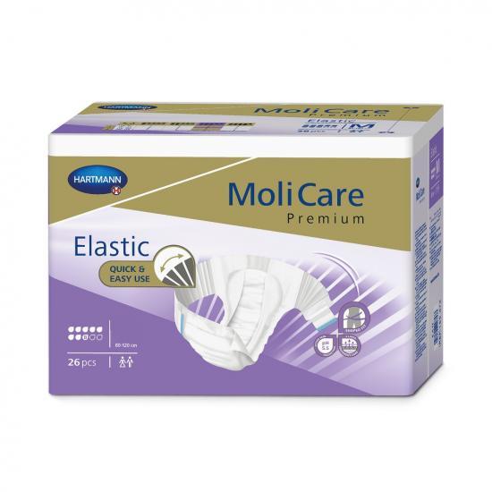 MoliCare Elastic 8 kapek L kalhotky zalepovací 24 ks