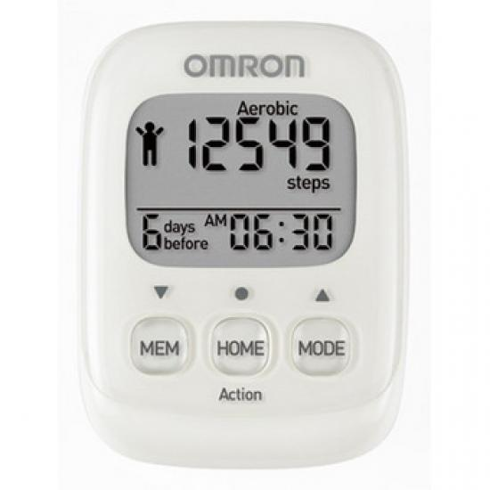 Omron HJ-325-EW Walking Style IV krokoměr -bílý