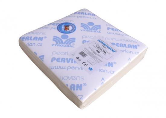 Pervin / Perlan netkaný textil v přířezech 32x32 cm (bal. 200 ks)