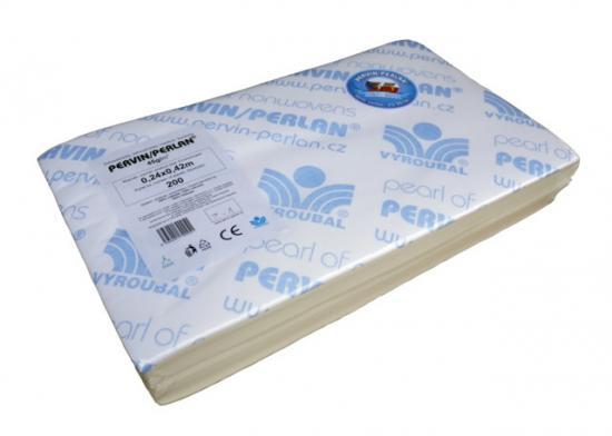 Pervin / Perlan netkaný textil v přířezech 24x42 cm (bal. 200 ks)
