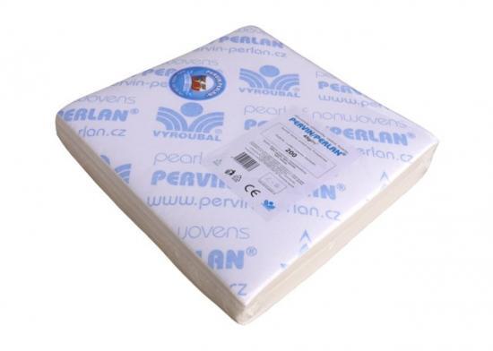 Pervin / Perlan netkaný textil v přířezech 21x24 cm (bal. 200 ks)