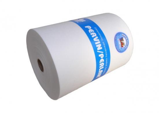 Pervin / Perlan netkaný textil v perforované roli 30x30 cm (400 útržků)