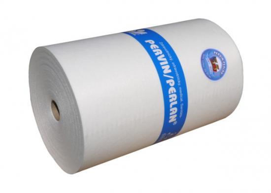 Pervin / Perlan netkaný textil v perforované roli 40x50 cm (300 útržků)