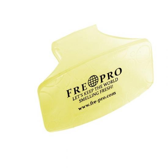 Vonný gelový clip žlutý - citrus