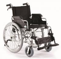 Mechanický invalidní hliníkový vozík  s rychlospojkou šířka sedáku 51cm a pomocnou brzdou FS908LJQ