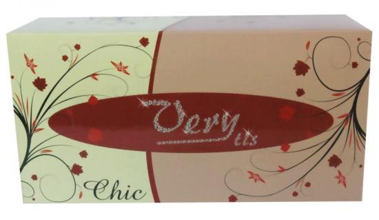 Kosmetické kapesníky CHIC UNI 2-vrstvé 150 ks