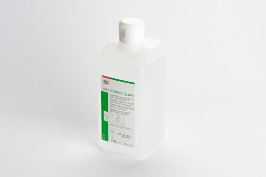 L+R Handdisinfect GREEN dezinfekce na ruce 500 ml