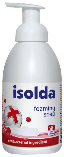 ISOLDA pěnové mýdlo s antibakteriální přísadou 500 ml