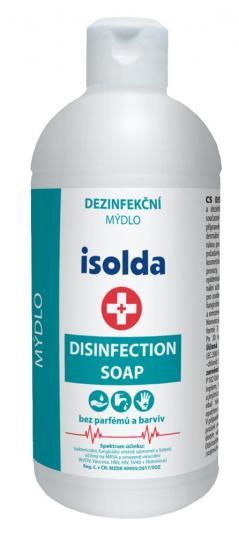 Isolda Disinfection soap dezinfekční mýdlo 500 ml