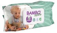 Bambo Nature vlhčené ubrousky, 80ks