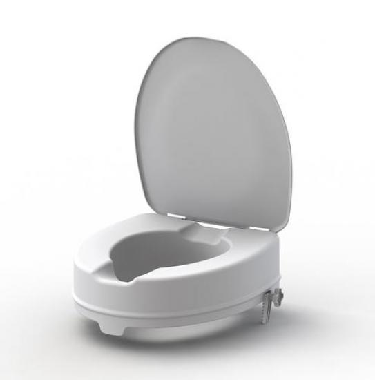 Nástavec na WC s poklopem 10 cm