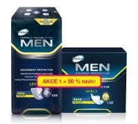 TENA Men Level 2, vložky pro muže + 50% navíc, 30 ks