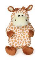Termofor 0,7l v plyšovém obalu žirafa