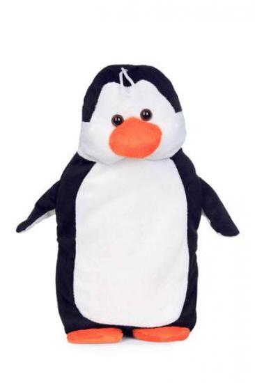 Termofor 0,7l v plyšovém obalu tučňák