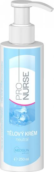 ProNURSE Tělový krém Neutral 250 ml