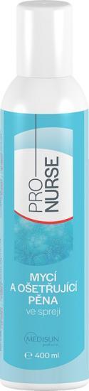 ProNURSE Mycí a ošetřující pěna S bisabololem ve spreji 400 ml