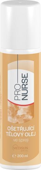 ProNURSE Ošetřující tělový olej S vitamínem E ve spreji 200 ml