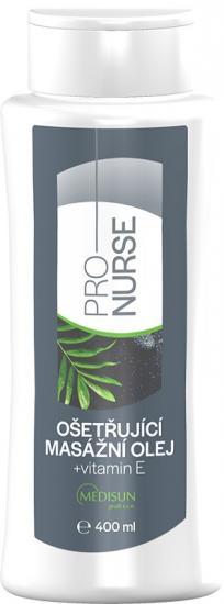 ProNURSE Ošetřující masážní olej + vitamin E 400 ml