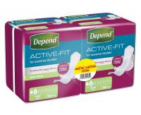 Depend Active-Fit Mini dámské vložky DUOPACK 2x14 ks