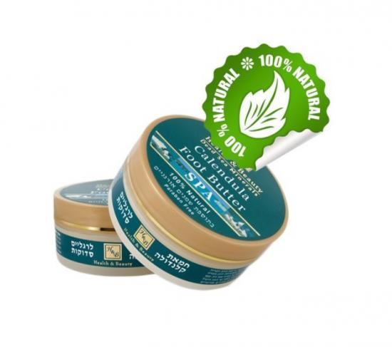 Máslo na popraskané nohy s měsíčkem 100 ml