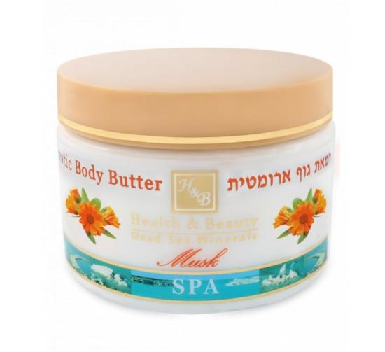 HB Aromatické tělové máslo mošus 350 ml