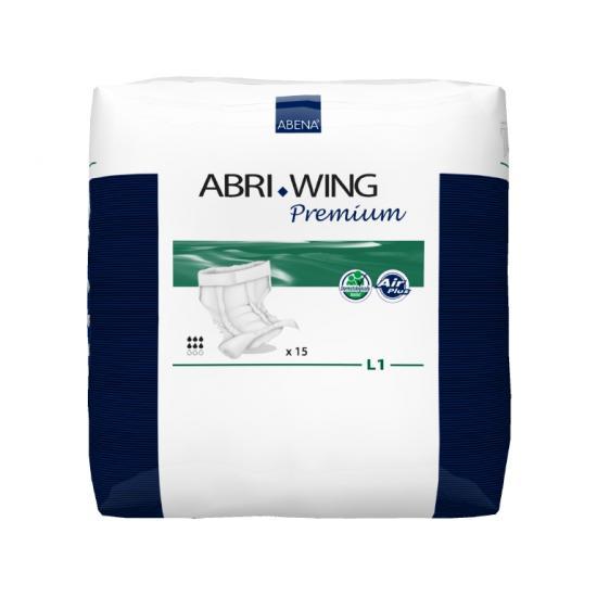 Abri Wing Premium L1 kalhotky s pásem 15 ks