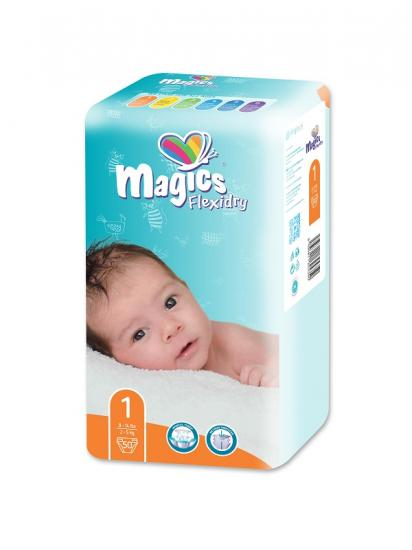 MAGICS Flexidry Newborn 2-5 kg 50 ks