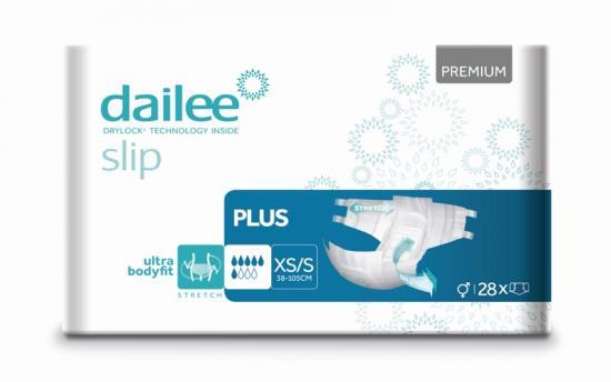 DAILEE Slip Premium Plus kalhotky zalepovací XS/S 28 ks