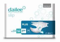 DAILEE Slip Premium Plus kalhotky zalepovací M 28 ks