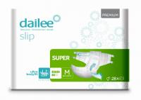 DAILEE Slip Premium Super kalhotky zalepovací M 28 ks