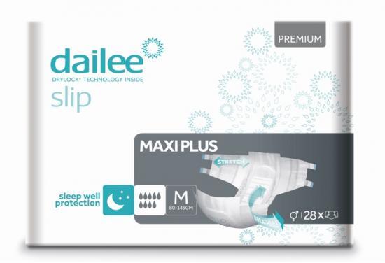 DAILEE Slip Premium Maxi Plus kalhotky zalepovací M 28 ks