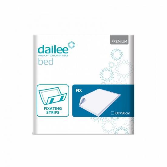 DAILEE Bed Premium Fix savé podložky s lepítky 60x90 cm 30 ks