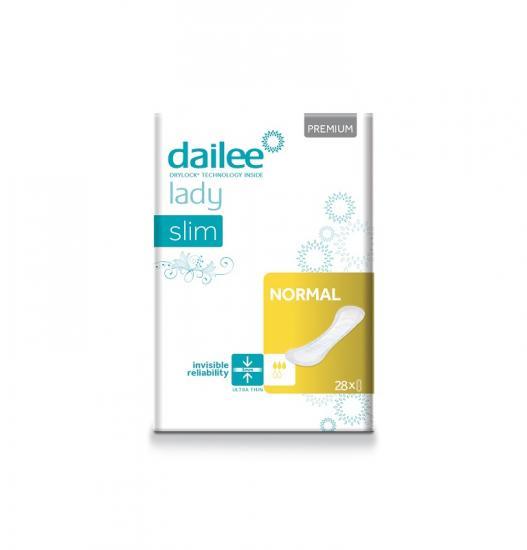 DAILEE Lady Premium Slim Normal dámské vložky 28 ks