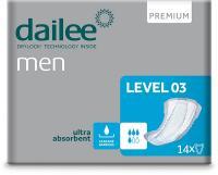 DAILEE Men Premium 3 Level vložky pro muže 14 ks