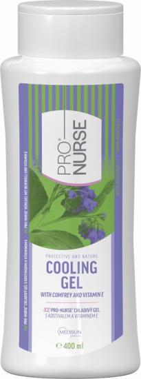 ProNURSE Chladivý gel S kostivalem + vitamin E 400 ml