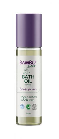Tělový olej po koupeli Bambo Nature 145 ml