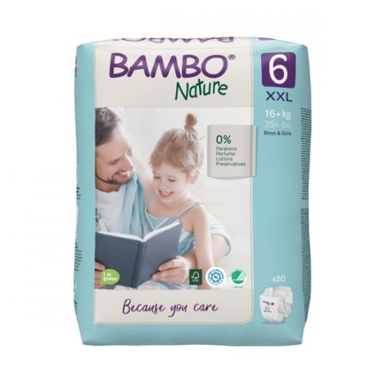 Bambo Nature 6, 16+ kg, 20 ks
