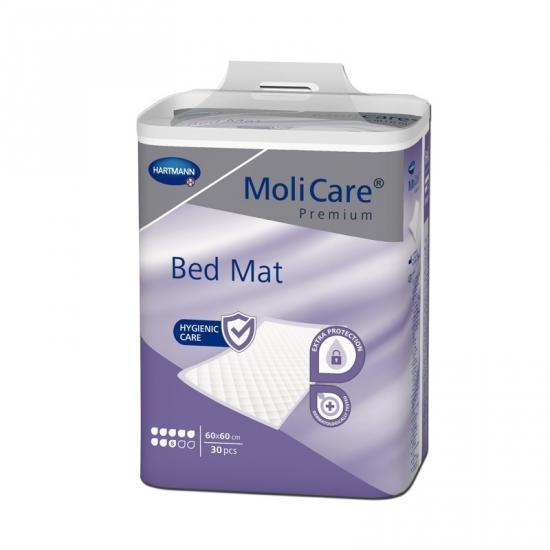 MoliCare Bed Mat 8 kapek savé podložky 60x60 cm 30 ks